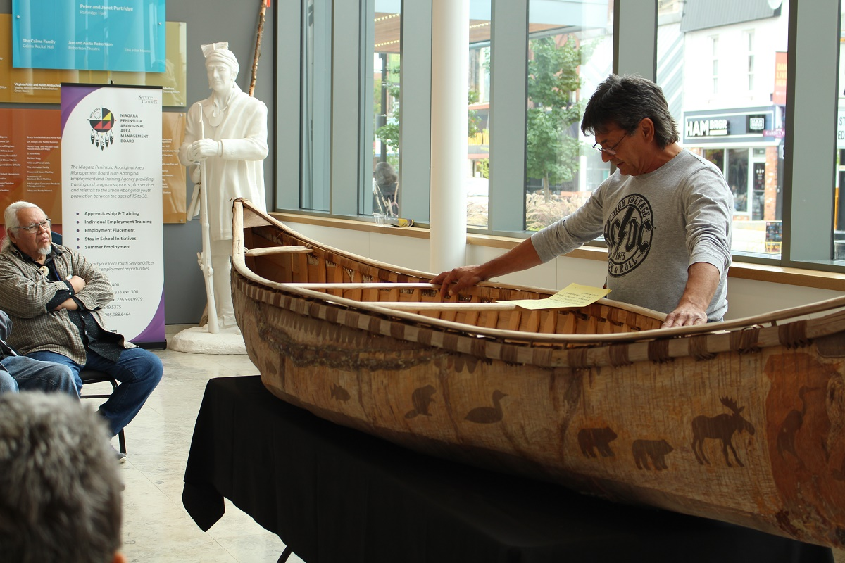 A Tool of Reconciliation: Chuck Commanda Master Canoe Builder